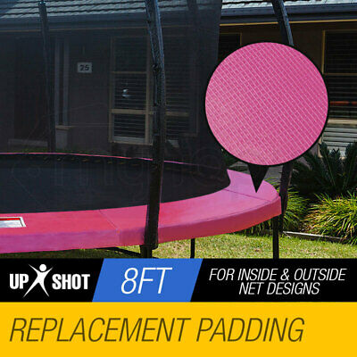 AU44 • Buy UP-SHOT 8ft Replacement Trampoline Pad Padding Springs Outdoor Safety Round