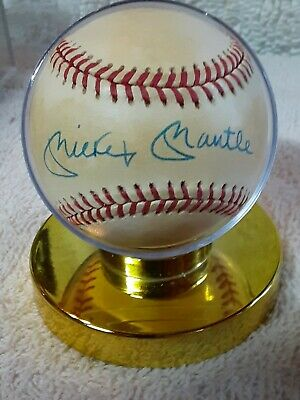 $ CDN13.20 • Buy Mickey Mantle Autographed (not Authenticated) Baseball  Rawlings NY Yankees