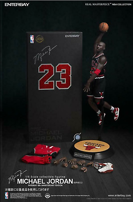 $629.99 • Buy Enterbay Real Masterpiece 1/6 Michael Jordan Figure #23 Series 2 The Last Shot