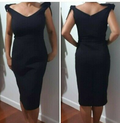 AU40 • Buy Forever New Black Pencil Dress