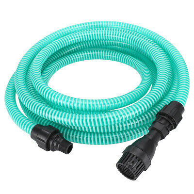 Portable PVC Suction Delivery Hose Plastic For Water Pump Irrigation Gardening • 15.99£