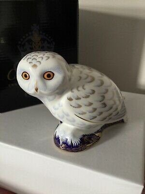 Royal Crown Derby Paperweight Collectors Guild 2005 Only SNOWY OWL  • 69.99£