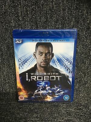 I, Robot (3D Blu-ray / Blu Ray) New And Sealed , Will Smith - 2 Discs. Freepost • 8.95£