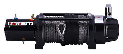 AU974.95 • Buy Runva 4X4 Winch 11XP Premium 12V 11000lb With Synthetic Rope IP67 Protection ...