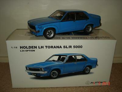 AU599.95 • Buy 1:18 Biante Holden LH L34 SL/R 5000 Torana In Azure Blue. Very Limited Edition