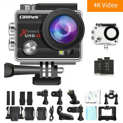 $ CDN58.45 • Buy Campark 4K 16MP Sports Action Camera WiFi LCD Camcorder As Go Pro Waterproof CA