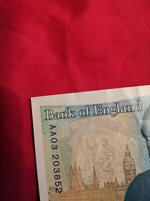 Very Rare 5 Pound Note  • 490£