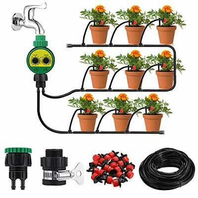 Irrigation System With Timer, 25m DIY Micro Drip Irrigation Kit • 26.27£
