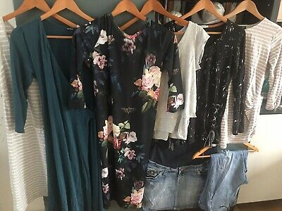 Maternity Bundle Size 12 M Medium Clothes, H&M, Gap, Topshop, New Look • 23£