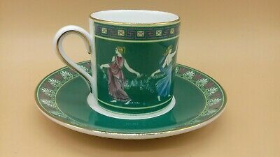 Wedgwood  Floral Girls  Bone China Coffee Cup And Saucer.  • 5£