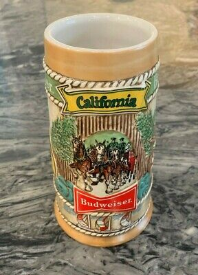$ CDN13.03 • Buy 1981 Budweiser California Limited Edition Beer Stein CS-56 Clydesdale