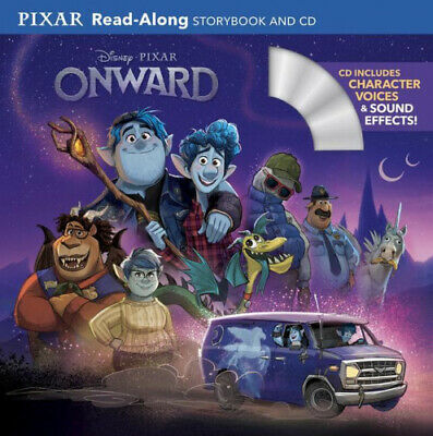 Onward (Read-Along Storybook And CD) By Disney Books.  • 6.53£