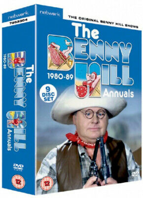 Benny Hill Annuals - 1980-1989 [DVD] [Region 2] - DVD - New - Free Shipping. • 32.50£