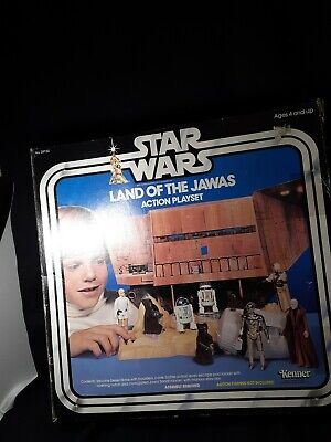 $ CDN193.81 • Buy Vintage 80's Kenner Star Wars Land Of The Jawas Action Playset W/ Box