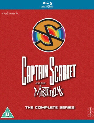Captain Scarlet And The Mysterons: The Complete Series [Blu-ray] [Region B] • 25.86£