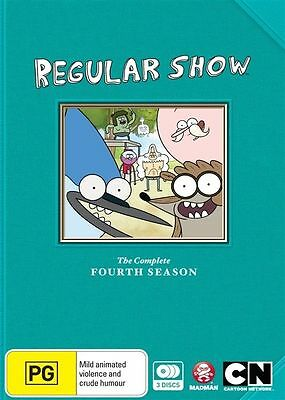 Regular Show Season 4 DVD Region 4 • 12.64£