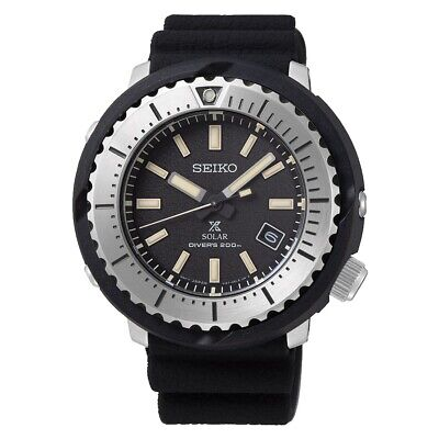 $ CDN373.09 • Buy Seiko Prospex Diver Street Series 46.1 Mm Solar Black Dial Watch SNE541P1