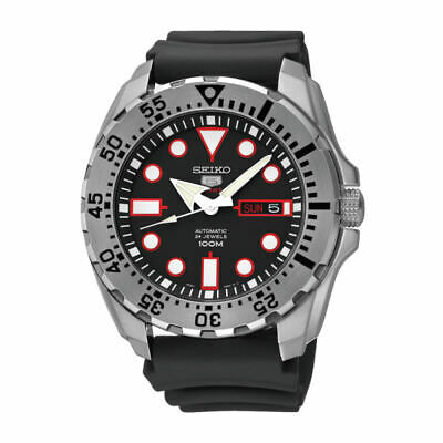 $ CDN246.53 • Buy Seiko 5 Sports Monster 44 MM SS With Silicone Band Automatic Watch - SRP601J1