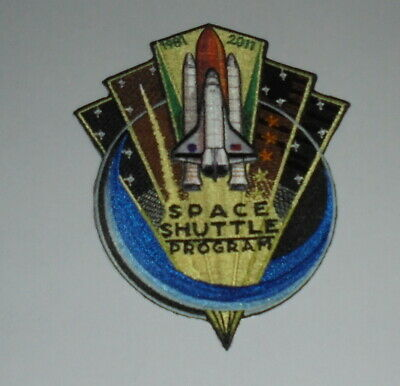 NASA Space Shuttle Program 1981 2011 Embroidered Patch • 4.99£