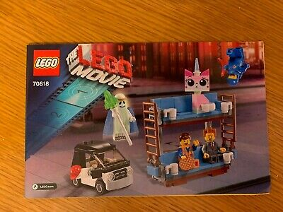 $ CDN6.47 • Buy Lego The Lego Movie 70818 Instruction Manual Booklet Book Double Decker Couch