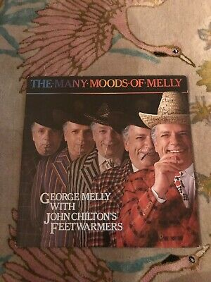 George Melly – The Many Moods Of Melly - Signed 1984 12  Vinyl LP Free UK Post. • 12.99£