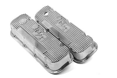 $216.95 • Buy Holley 241-84 Mickey Thompson Polished Valve Covers M/T Big Block Chevy