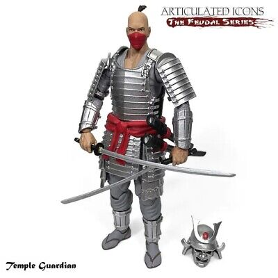 $ CDN63.42 • Buy Fwoosh Articulated Icons The Feudal Series Temple Guardian 6  Action Figure New