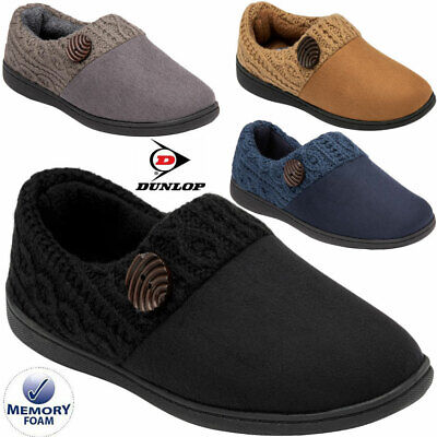 £12.99 • Buy Ladies Slippers Women Dunlop Memory Foam Fur Thermal Ankle Boots Warm Shoes Size