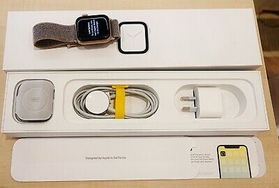 AU51 • Buy Apple Watch Series 4: GPS And Cellular - Gold Aluminium Case - 40mm