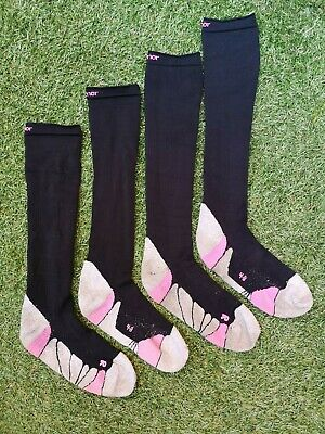 2 PAIRS Of Ladies Karrimor Compression Recovery Socks Running Triathlon ~ UK 4~8 • 11.99£