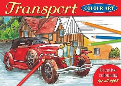£2.95 • Buy Brown Watson - A4 Colour Art Colouring Book - Over 20 TRANSPORT Designs