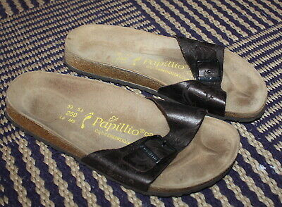 Birkenstock Papillio Leather Sandals UK 5.5 Narrow Eur 39  - Worn ONCE  • 19.99£
