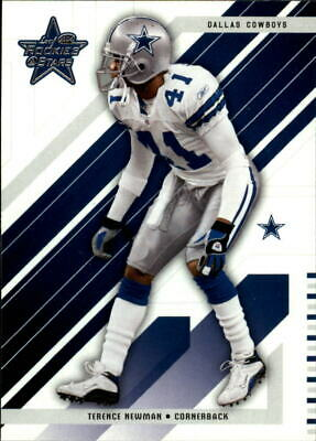 $0.99 • Buy 2004 Leaf Rookies And Stars Football Card #26 Terence Newman