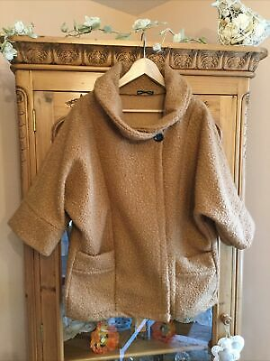 £5 • Buy Ladies New Collection Teddy Bear Jacket Size 14/16 Three Quarter Sleeve
