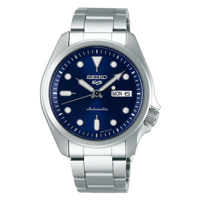 $ CDN281.46 • Buy Seiko 5 Sports 40mm Full Stainless Steel Blue Dial Automatic Watch - SRPE53K1