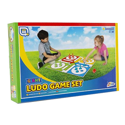 TRADITIONAL LUDO GIANT BOARD GAMES Classic Full Size Family Children's Kids  • 4.99£