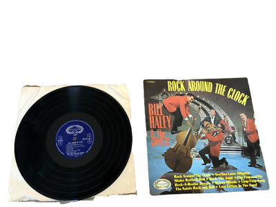 BILL HALEY AND HIS COMETS Rock Around The Clock LP VINYL UK Hallmark 10 Track • 5.99£