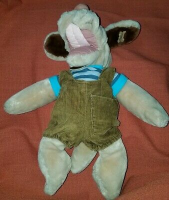 £8.83 • Buy Wrinkles 17  Brown Dog Hand Puppet Clothes - Ganz Plush Toy Heritage Collection