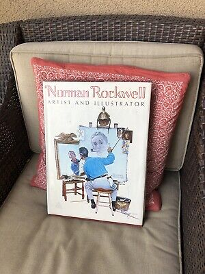 $ CDN38.93 • Buy LARGE NORMAN ROCKWELL Coffee Table Book 1970 Thomas S. Buechner