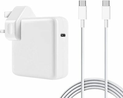 £16.99 • Buy 61W USB C Type C Power Adapter For Apple MacBook Pro 13  Core I5 I7 Charger