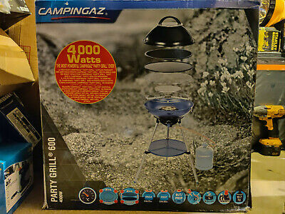 Campingaz Party Grill 600 Large Home & Camping Stove Compact Portable BBQ. (New) • 100£