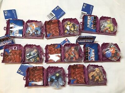 $70 • Buy Masters Of The Universe Eternia Minis WAVE 2 ALL 8 FIGURES New Disco Skeletor