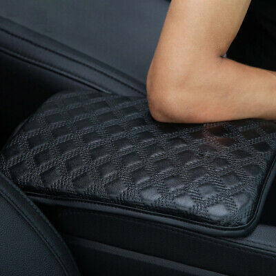$13.98 • Buy Car Armrest Pad Cover Center Console Box Leather Cushion Armrests Pads Car Parts