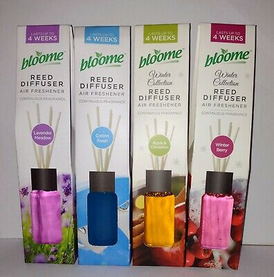 £4.25 • Buy Reed Diffusers Air Freshener Sets Natural Oils Scented Fragrance Room Home