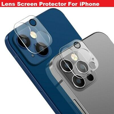 9H Tempered Glass Camera Lens Protector Cover HD Film For IPhone 12 Mini/Pro/MAX • 2.49£