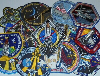 NASA Space Shuttle Mission STS Embroidered Patch  • 4.99£