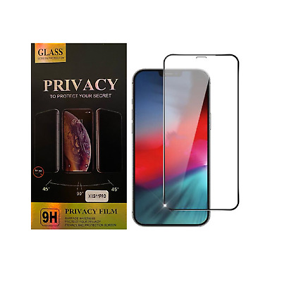 Iphone 11, 11 PRO MAX, XR, XS Screen Protector Full Cover Tempered Glass FreeP&P • 3.89£