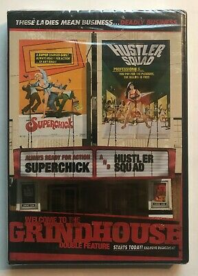 Superchick / Hustler Squad DVD Welcome To The Grindhouse Exploitation OOP NEW • 14.36£