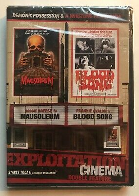Mausoleum / Blood Song DVD Exploitation Cinema Double Feature Horror OOP NEW • 22.98£