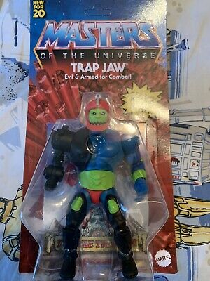 $32 • Buy Masters Of The Universe Origins Trap Jaw 5.5 In Action Figure Unpuched IN HAND